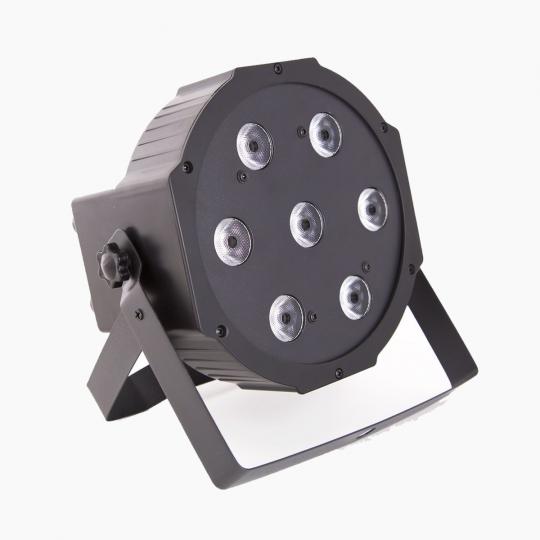 Apšvietimas RGBW-LED-PAR-7x10w